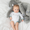Body bébé garçon imprimé éléphants garçon (lot de 2)