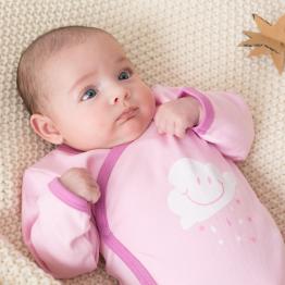 Baby girl bodysuit - Cloud