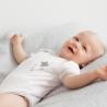 Lot de 2 bodies bébé imprimés étoiles à manches courtes