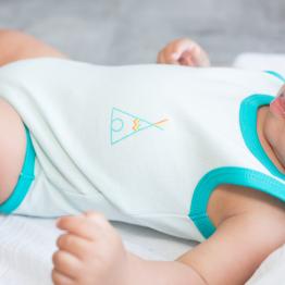Body bebè senza maniche – Tenda