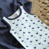 Confezione di 2 bodies per il bèbè – Orsacchiotto origami