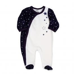 Baby boy birth pyjamas - Constellation