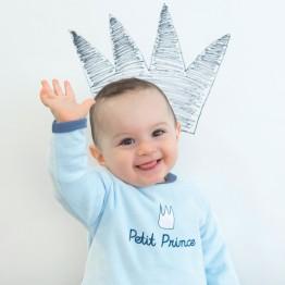 Pyjama bébé garçon en velours - Petit Prince