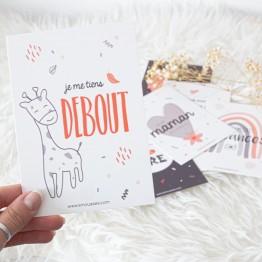 Carte segna tappe – Il mio primo anno