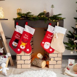 Stivale di Natale - Pupazzo di neve