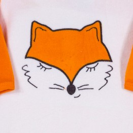 Baby boy velvet pyjamas - Fox