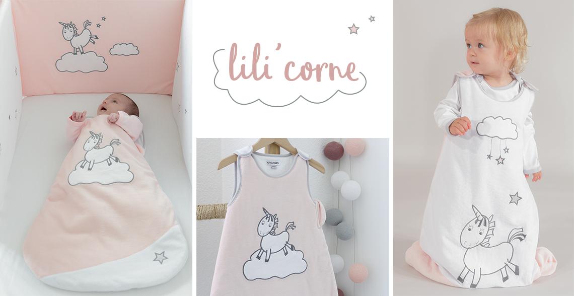 theme licorne pour bébé fille Kinousses